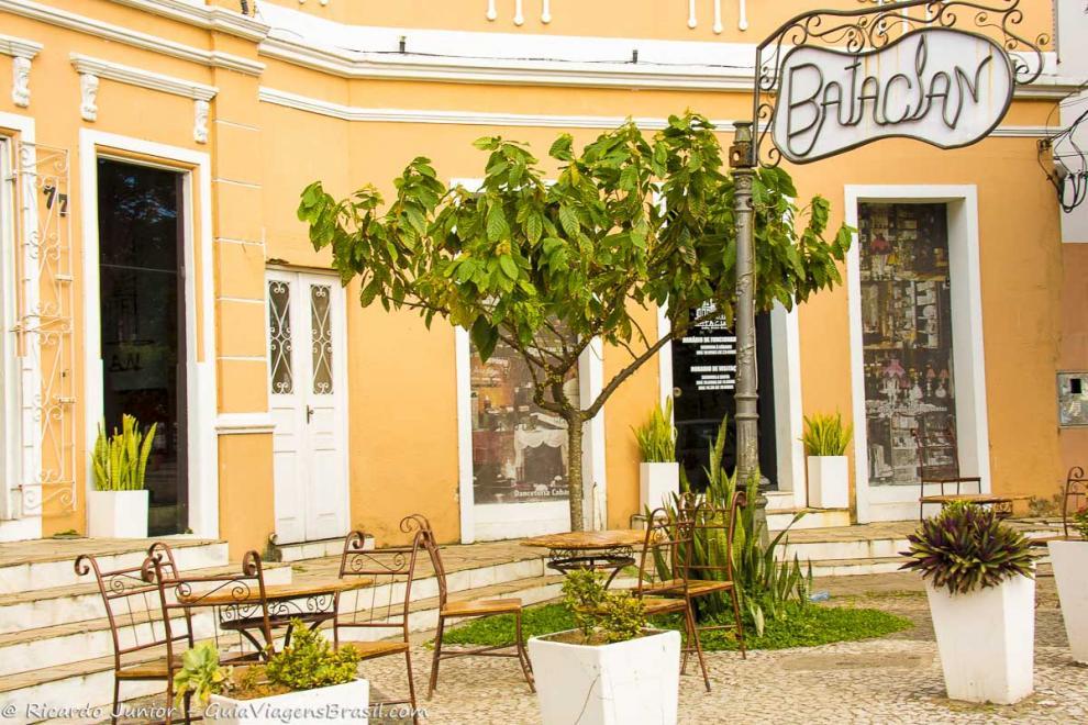 Imagem da entrada do Bataclan em Ilhéus-Bahia-BA