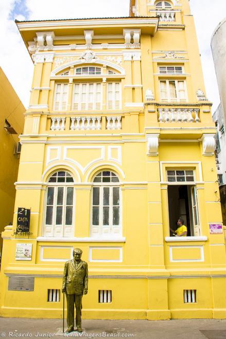 Imagem da fachada da Casa de Cultura Jorge Amado-Ilhéus-Bahia-BA