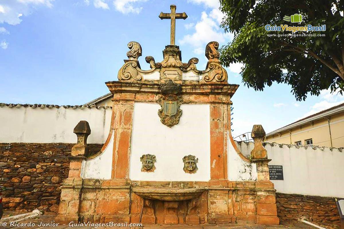 Chafariz do Rosário, em Sabará, MG.
