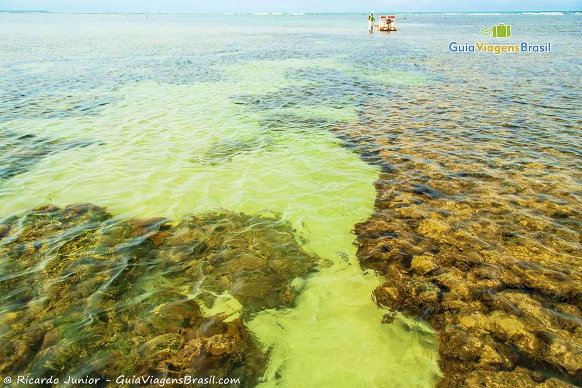 Foto Piscinas Naturais da Praia do Toque, em São Miguel dos Milagres, AL.