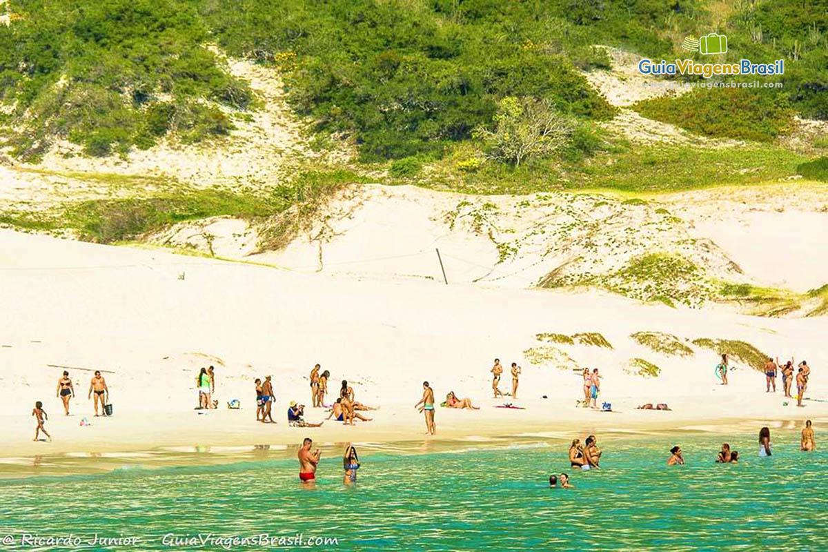 Foto Praia do Farol, Ilha do Farol, Arraial do Cabo, RJ.
