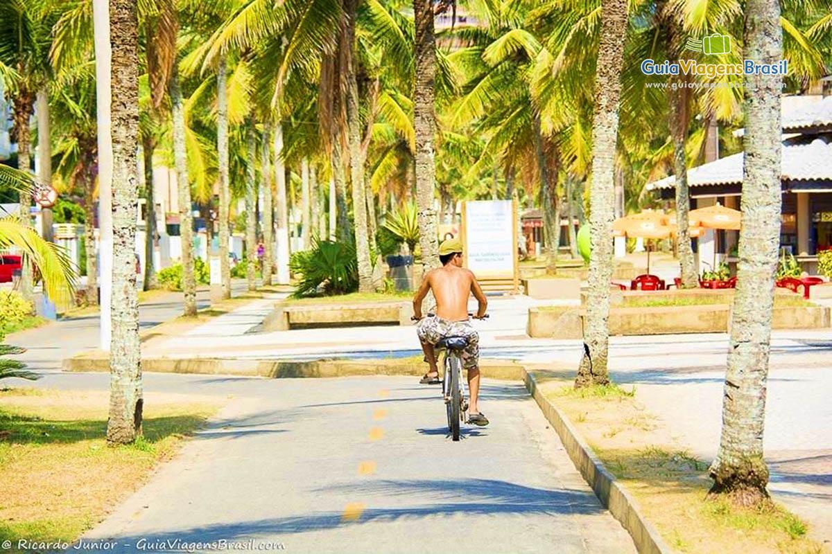 Foto ciclovia de Praia Grande.