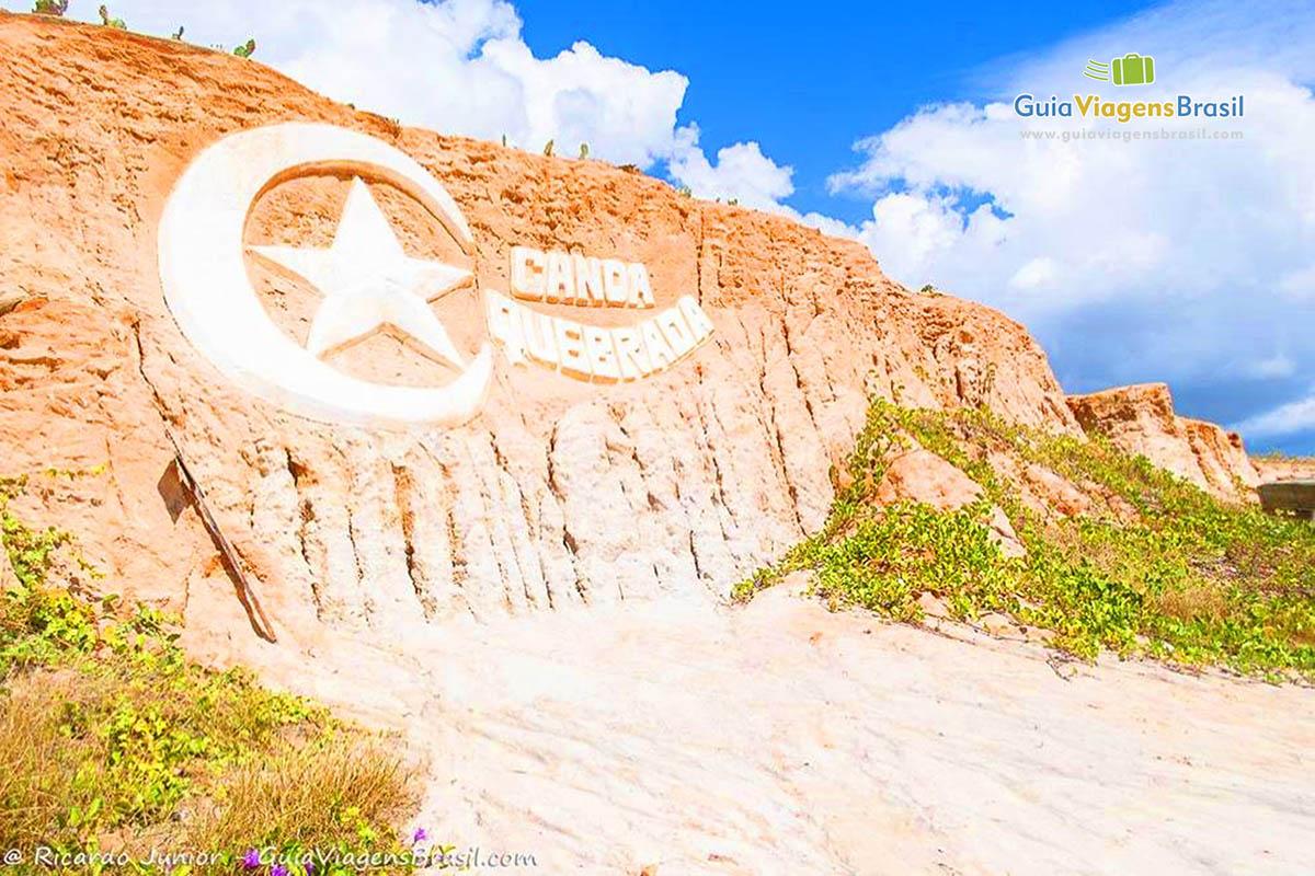 Foto Lua e Estrela: símbolo oficial de Canoa Quebrada