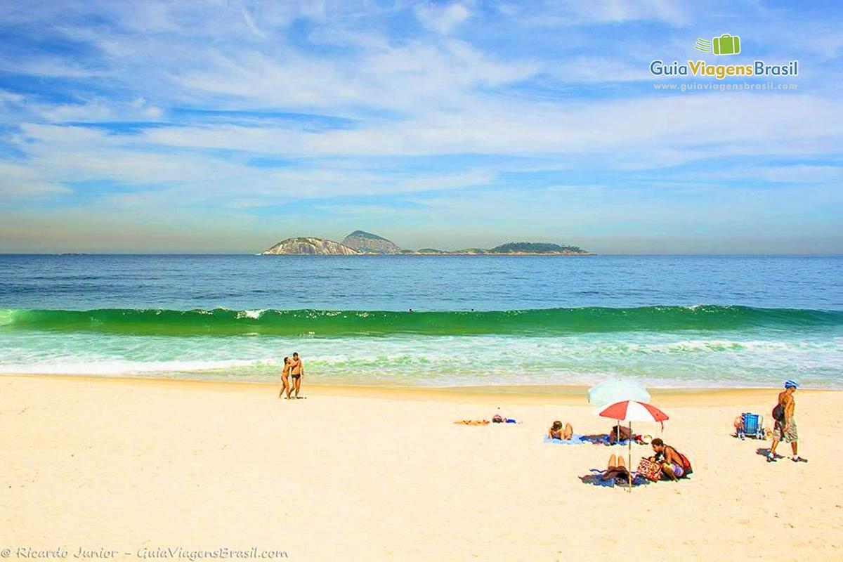 Foto Praia de Ipanema, RJ.