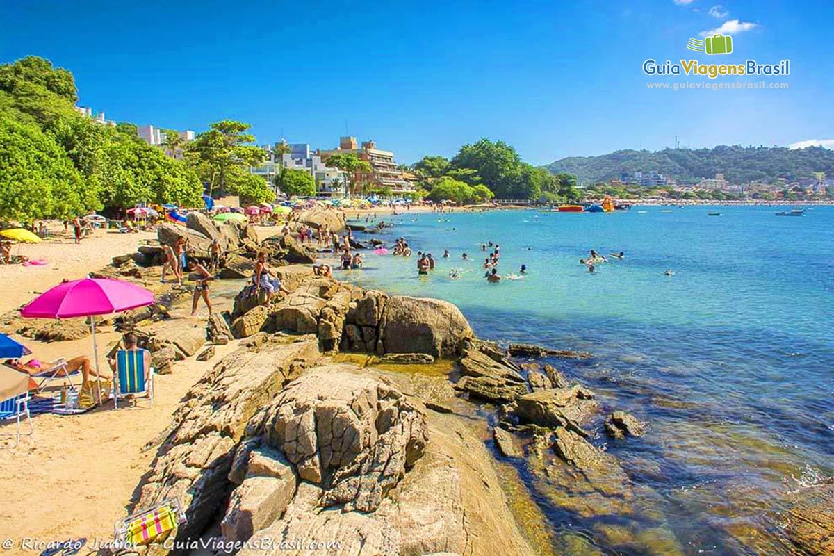 Foto Praia da Lagoinha, Bombinhas.
