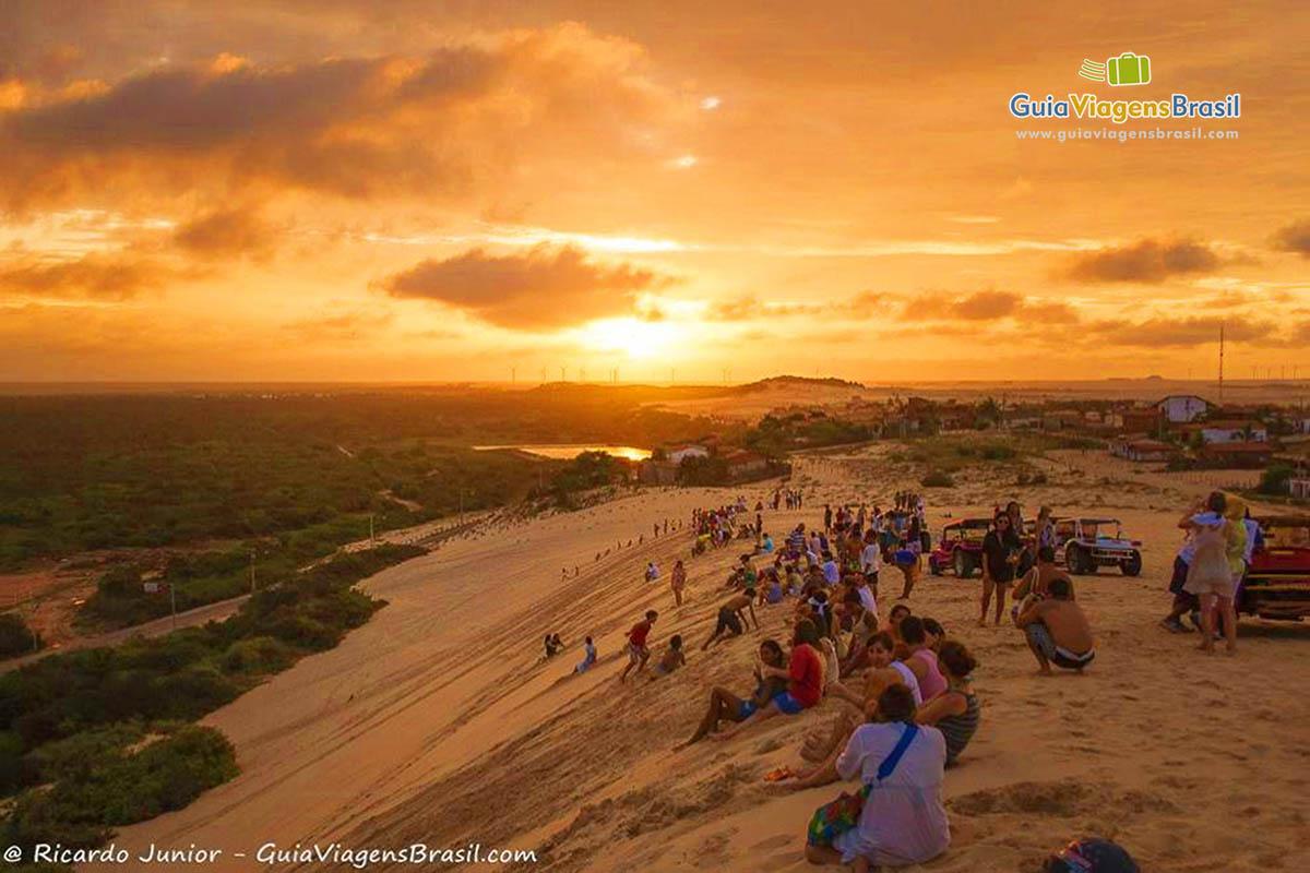 Foto Pôr do Sol em Canoa Quebrada.