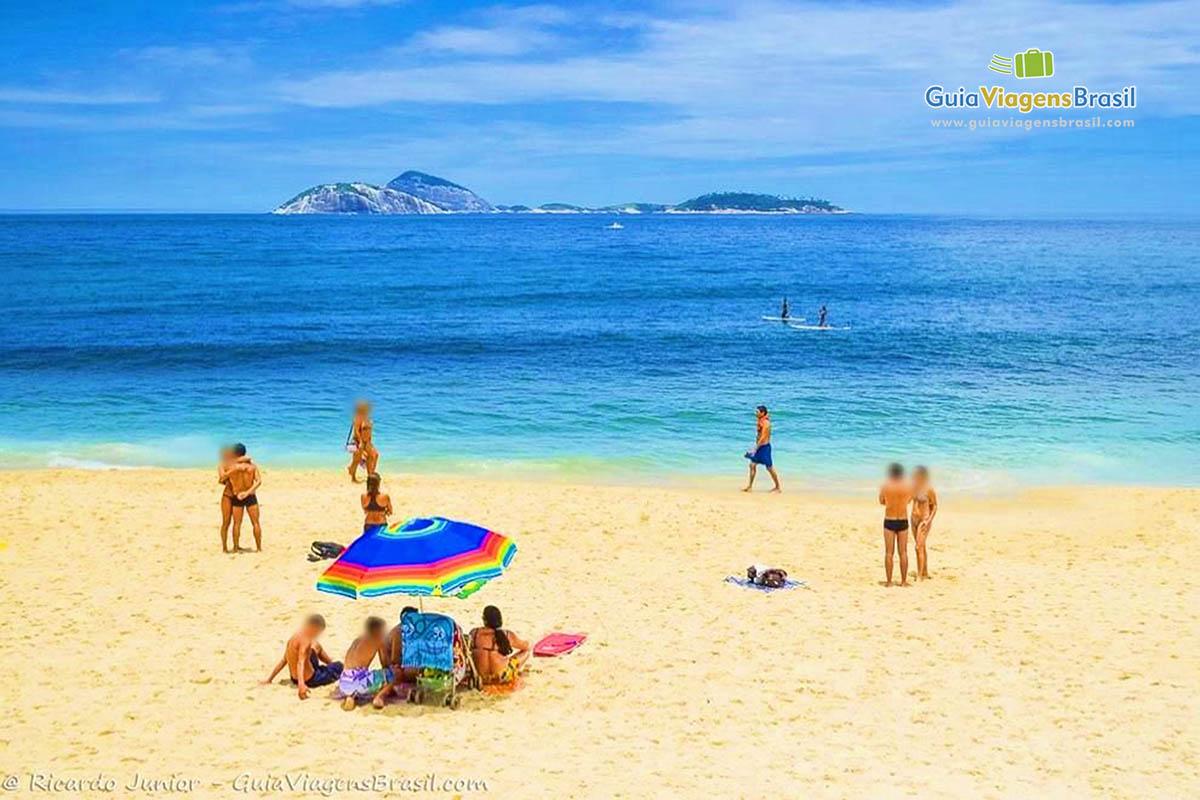 Foto Praia do Leblon, RJ.