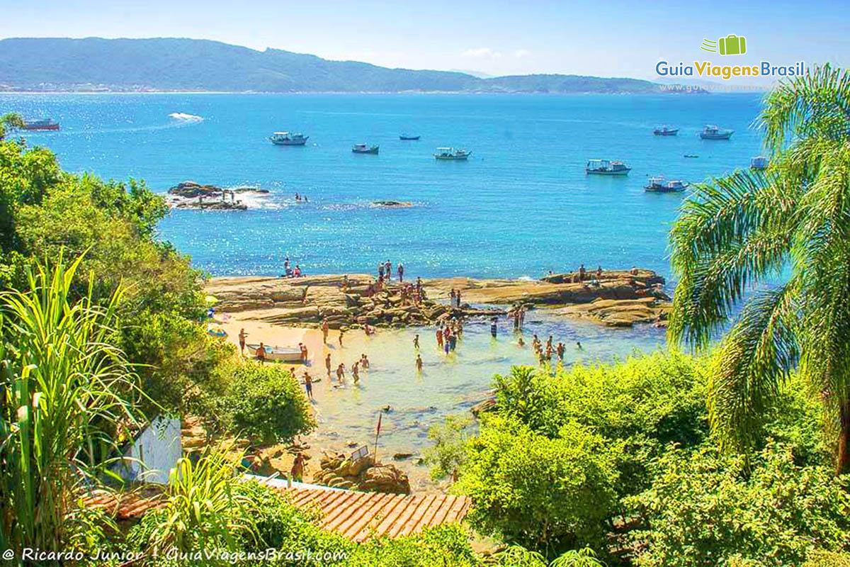 Foto Praia da Lagoinha a partir do mirante.
