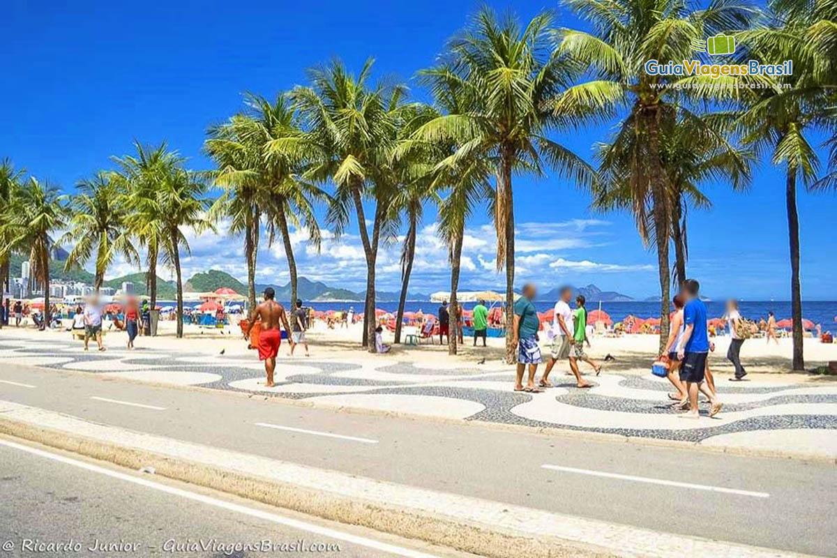 Foto Praia de Copacabana, RJ.