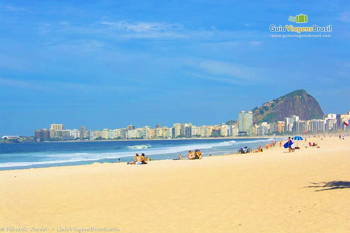 Foto Praia do Leme, RJ.