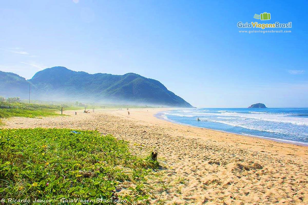 Foto Praia de Grumari, RJ.