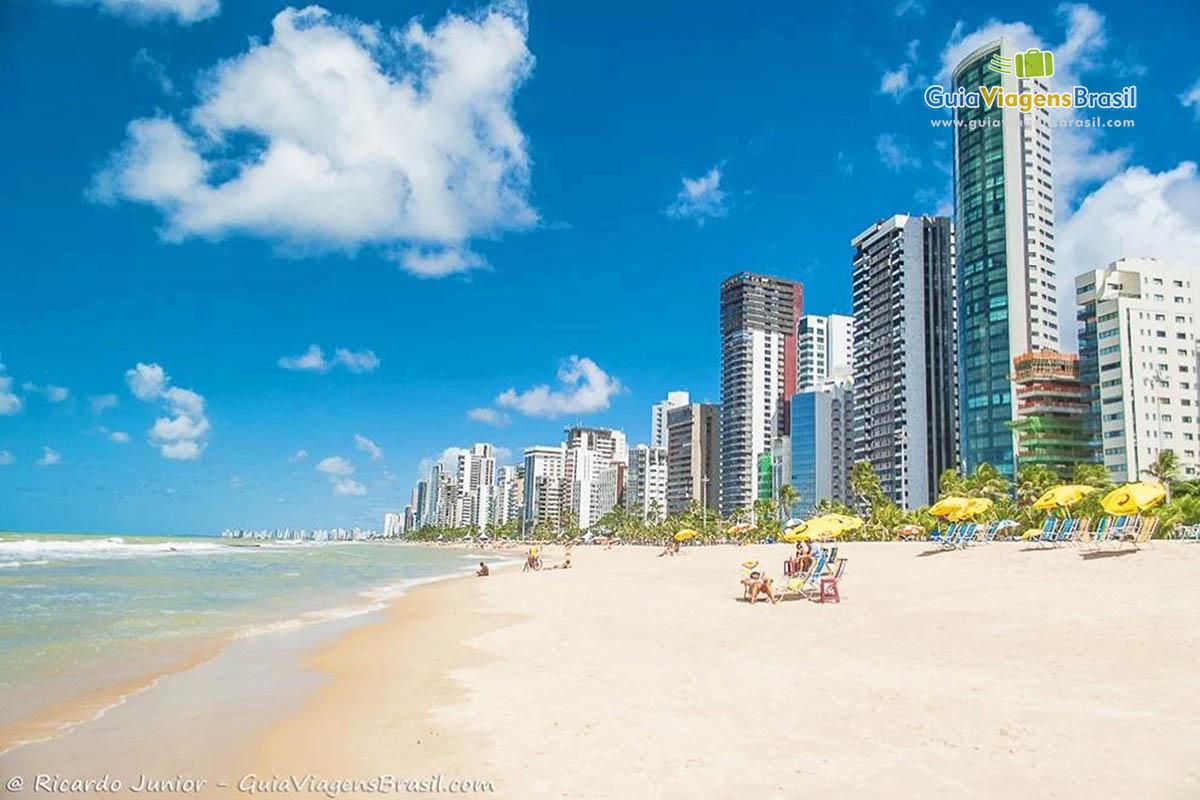 Foto orla da Praia de Boa Viagem