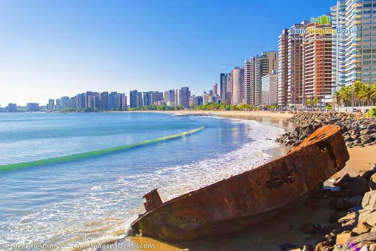 Foto Praia de Iracema, Fortaleza, CE.
