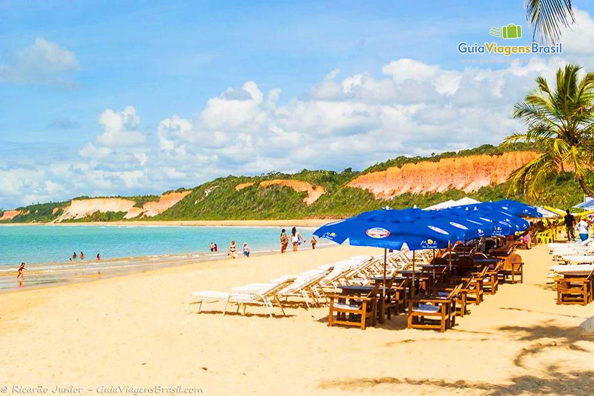 Foto Praia da Pitinga, em Arraial D`Ajuda, BA.