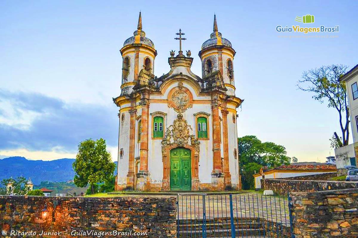 Foto Igreja de São Francisco de Assis, em Ouro Preto, MG.