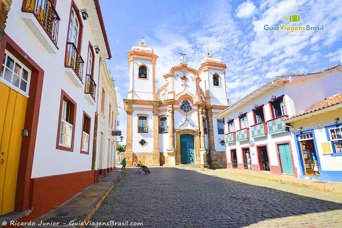 Foto Igreja Nossa Senhora do Pilar, Ouro Preto, MG.