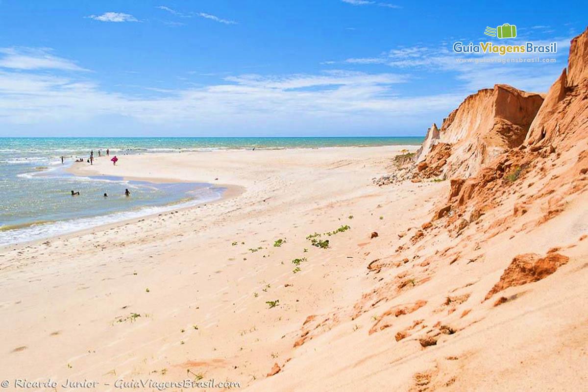 Foto Praia de Canoa Quebrada, CE.