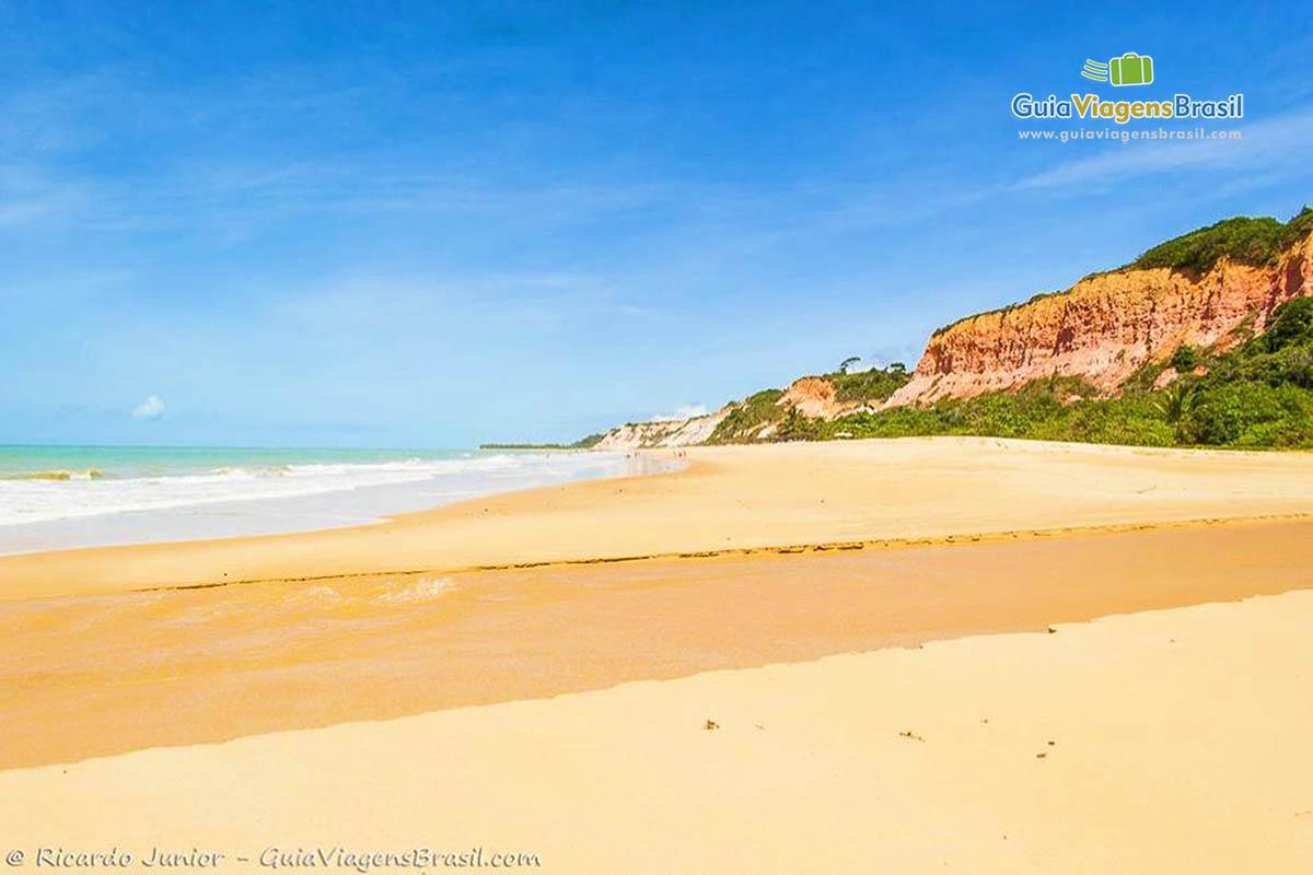 Foto Praia de Taípe, um das mais lindas de Arraial D`Ajuda, na Bahia.