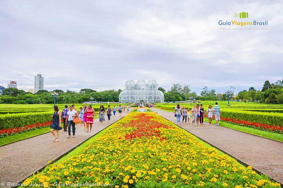 Foto Jardim Botânico de Curitiba, PR.