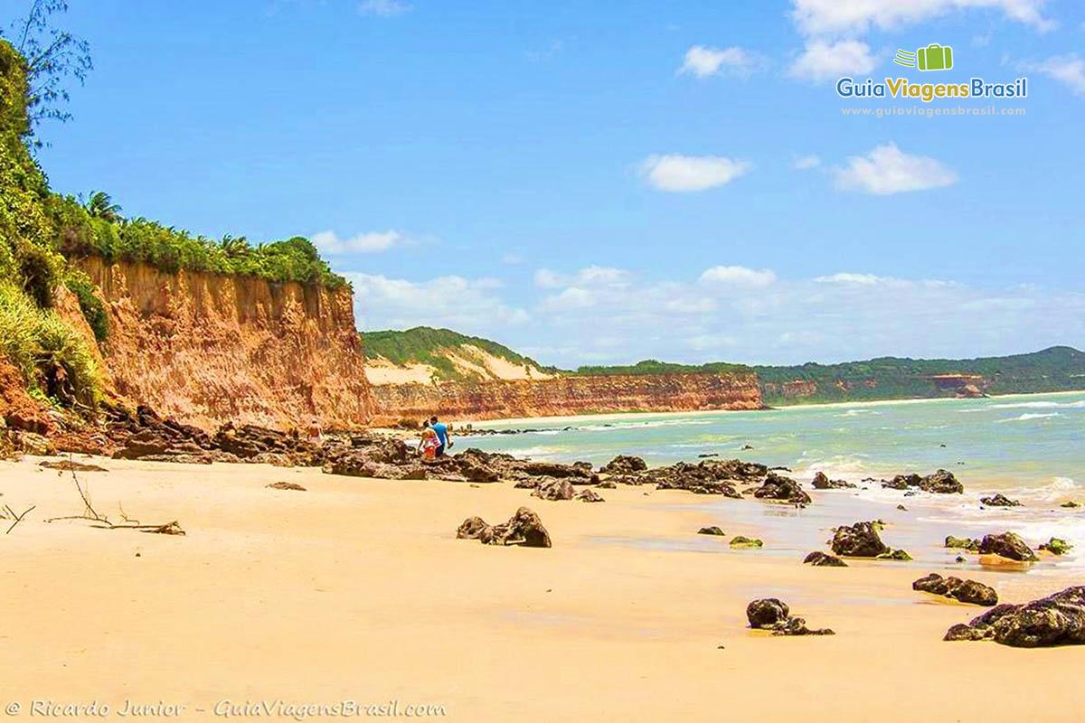 Foto da Praia de Pipa, RN.