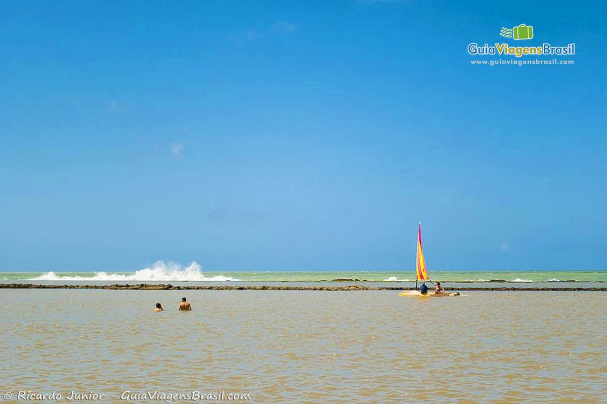 Foto Praia de Muro Alto, PE.