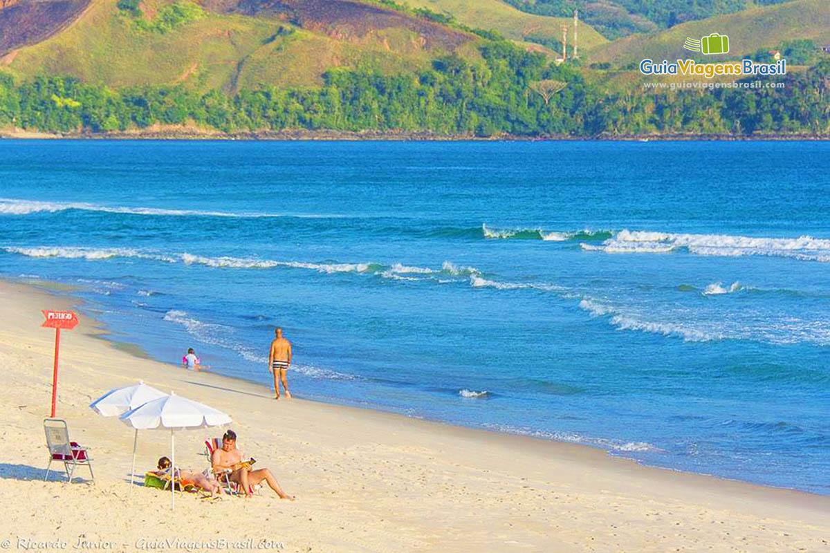 Foto Praia de Maresias, São Sebastião, SP.