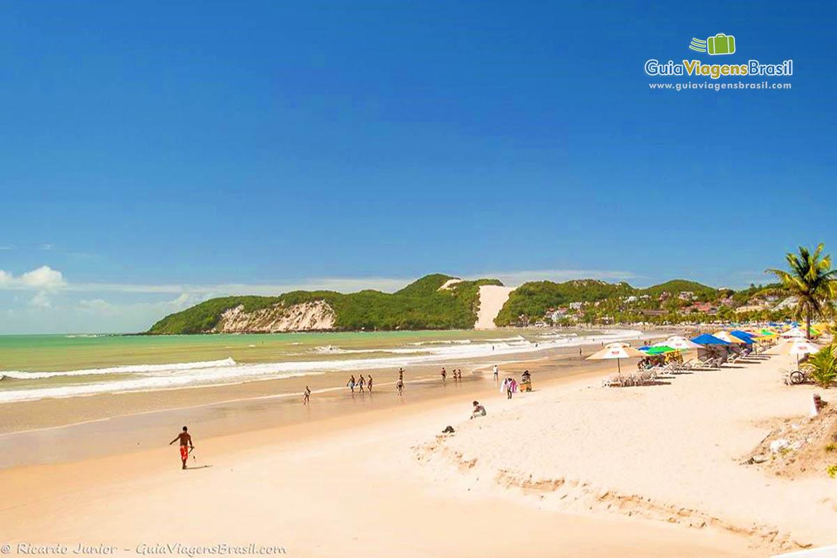 Foto Praia de Ponta Negra, Natal, RN.