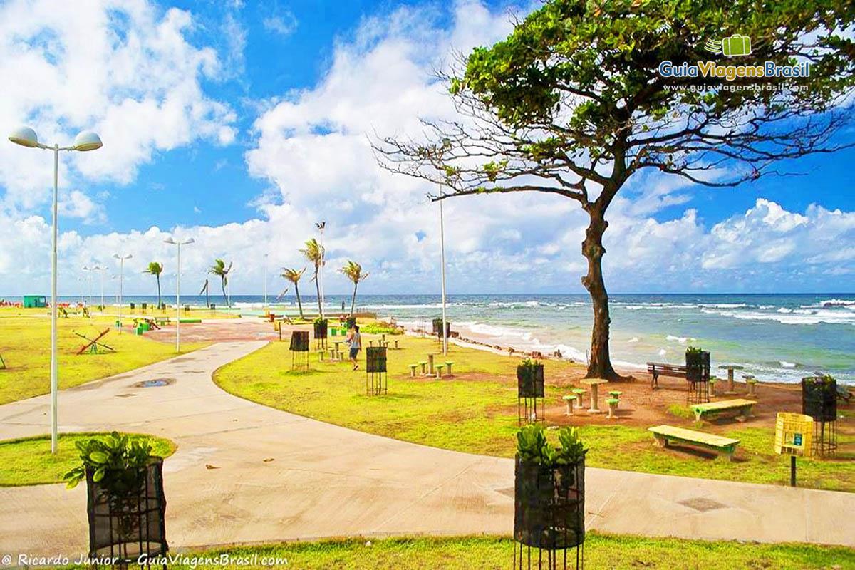 Foto Praia de Pituba, Salvador, BA.