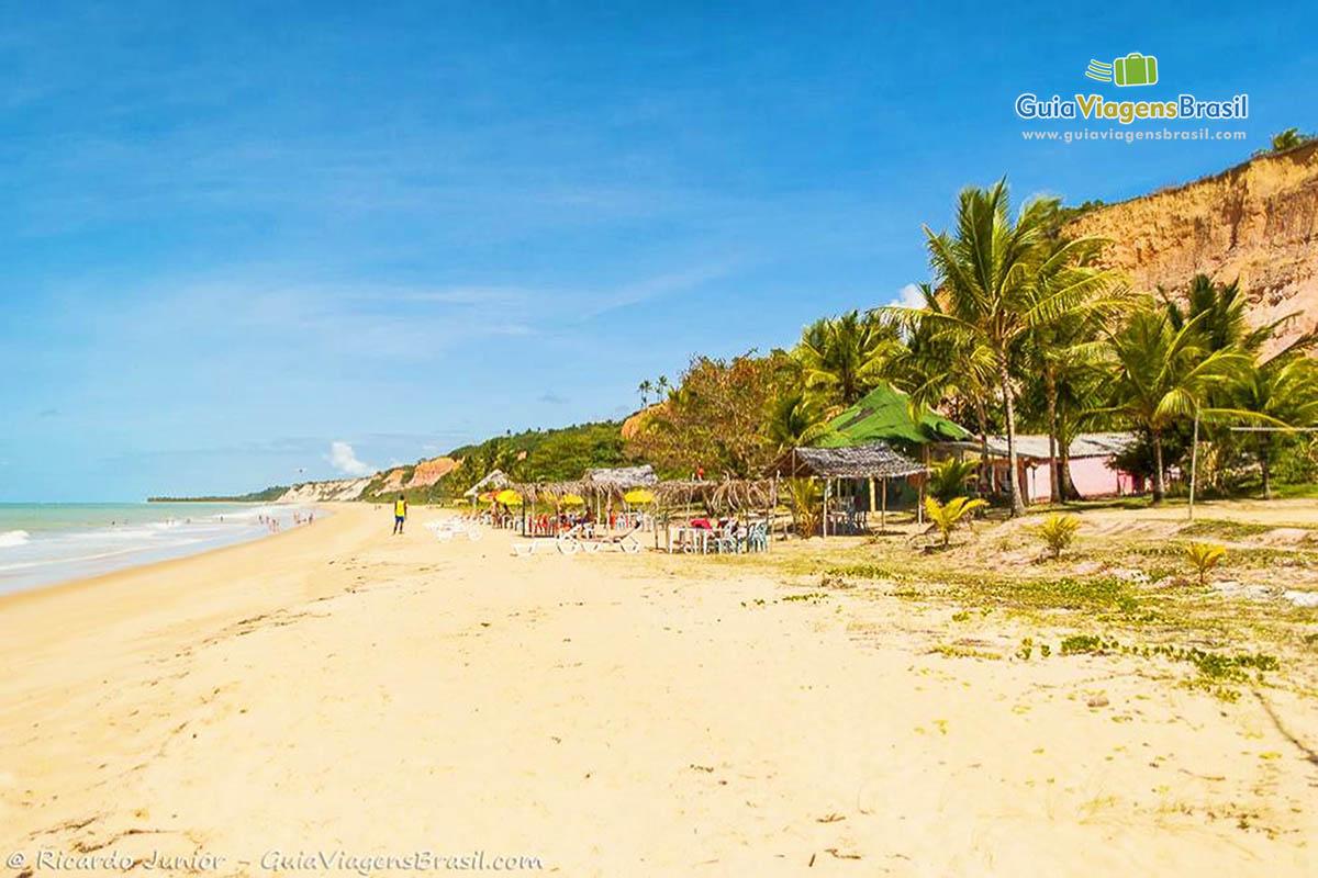 Foto Praia de Taípe, BA.