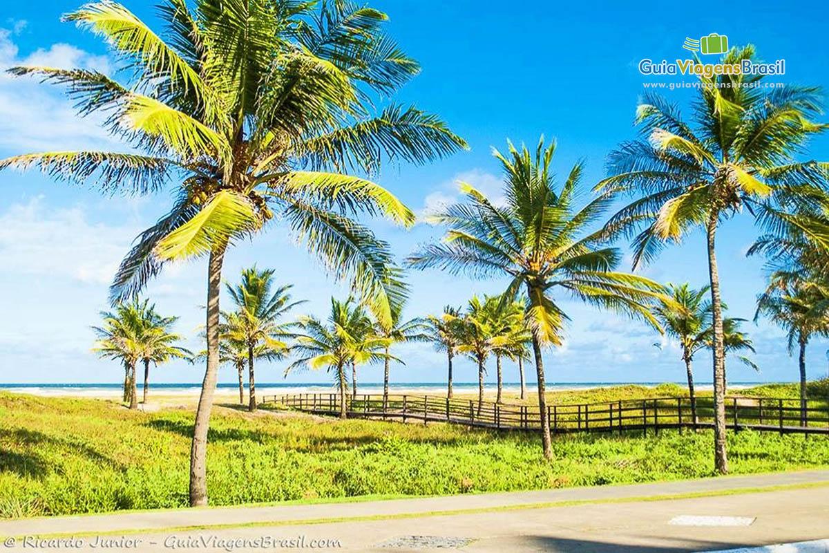 Foto Praia de Atalaia, em Aracaju, Sergipe.