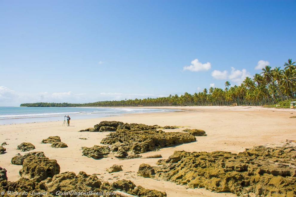 Foto da Praia da Cueira, Ilha de Boipeba, BA.