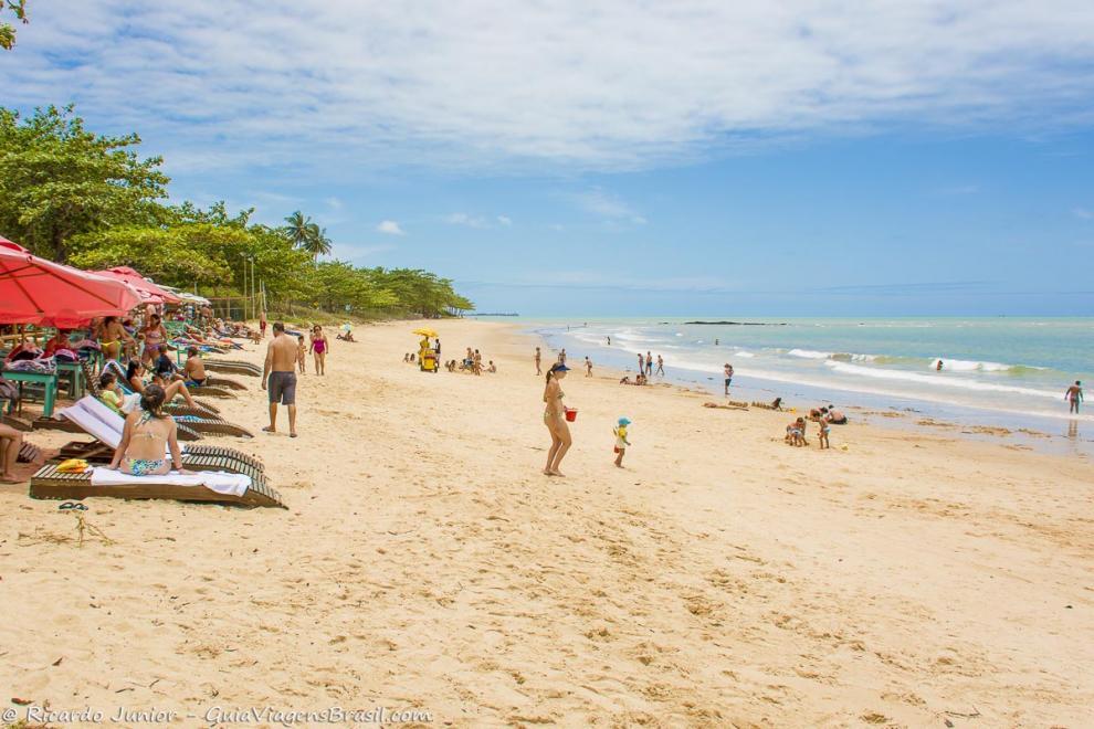 Foto Praia de Curuípe, BA.