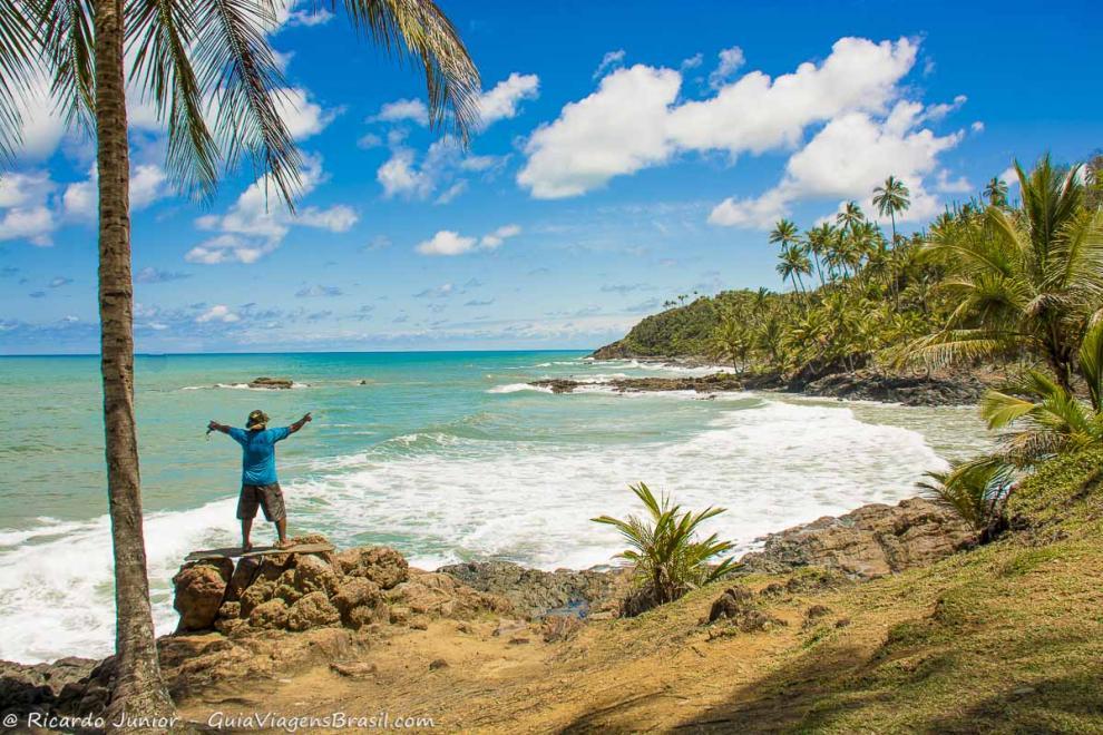 Foto da Praia do Havaizinho, Itacaré, BA.