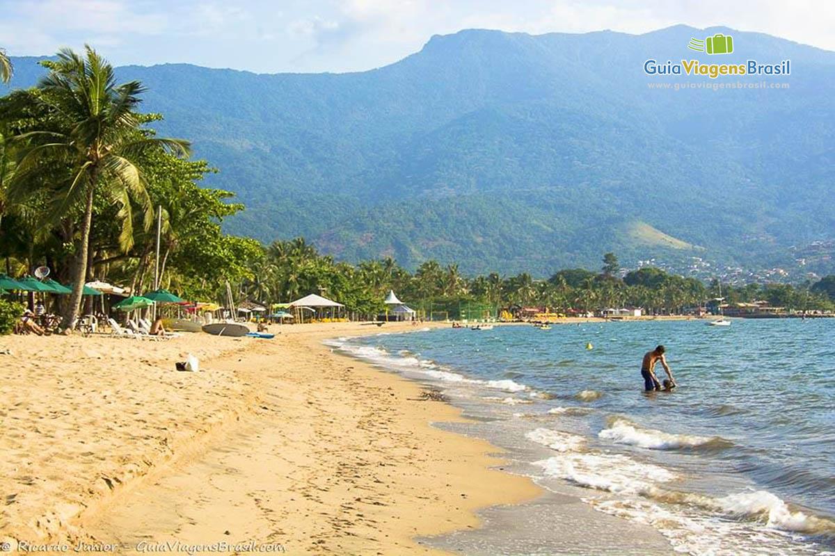 Foto Praia de Perequê, SP.