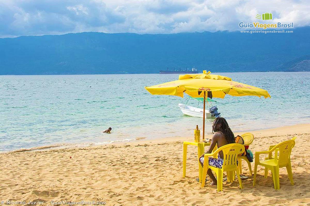 Foto Praia do Curral, Ilhabela, SP.