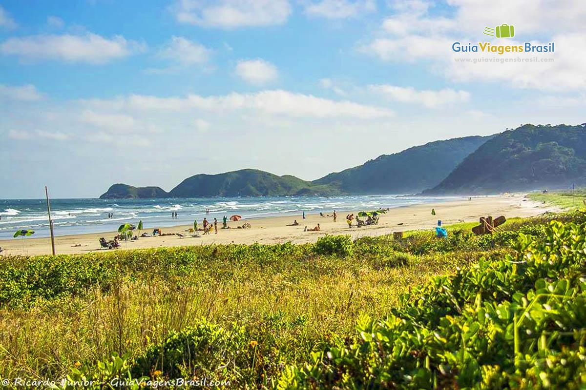 Foto Praia Grande, Ilha do Mel, PR.