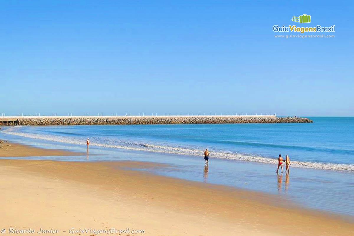 Foto Praia de Iracema, Ceará.