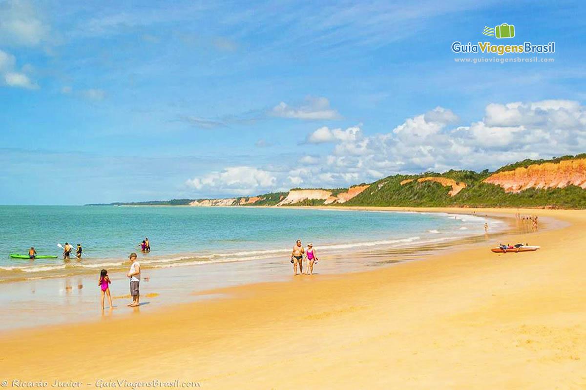 Foto Praia de Pitinga, BA.