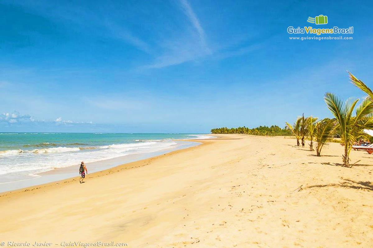 Foto da Praia Rio da Barra, Trancoso, BA.