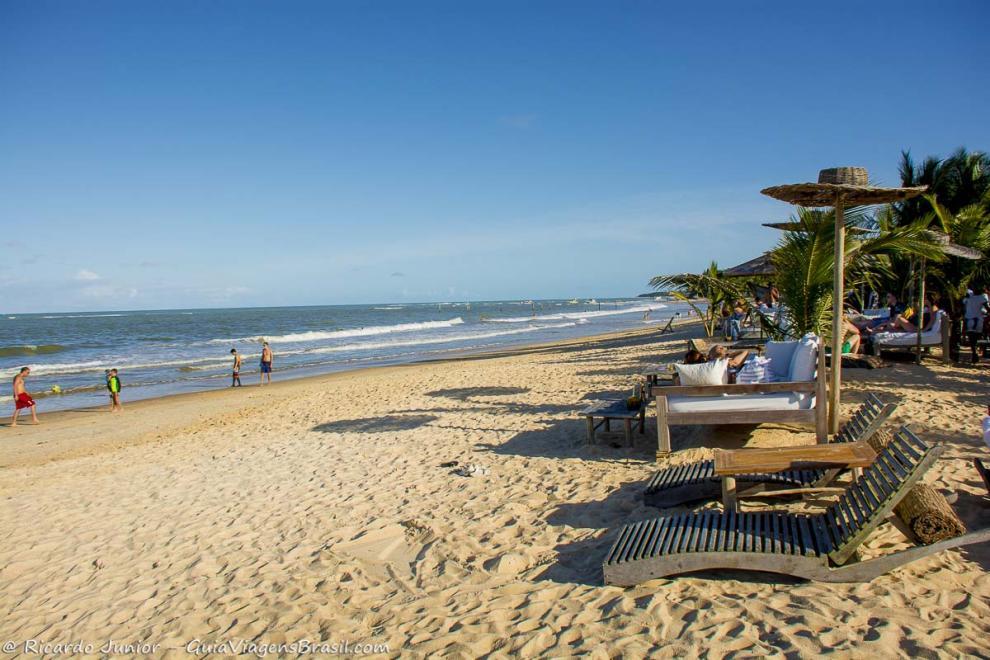 Foto da Praia dos Coqueiros, Trancoso, BA.