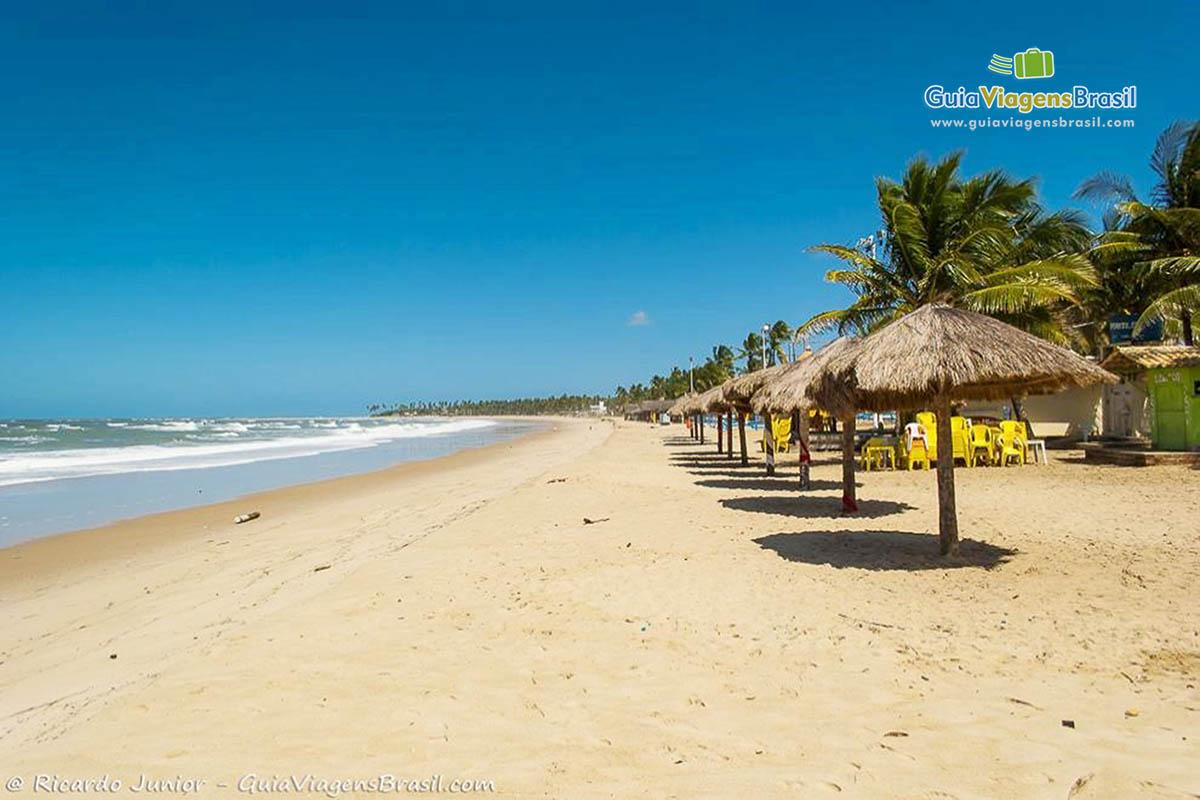 Foto orla Praia de Maracaípe, PE.