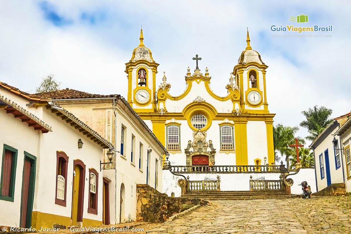 Foto Igreja Matriz de Santo Antônio, Tiradentes, MG.