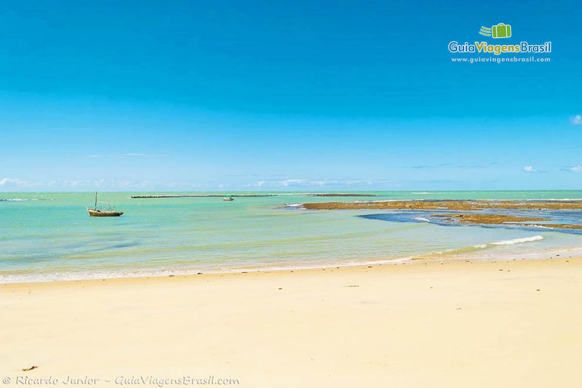 Foto paradisíaca Praia do Espelho, Trancoso, BA.