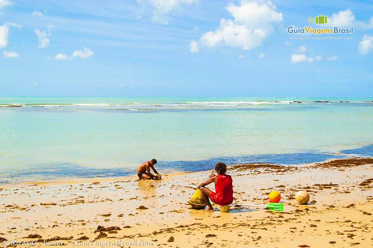 Foto Praia do Parracho, em Arraial D`Ajuda, BA.