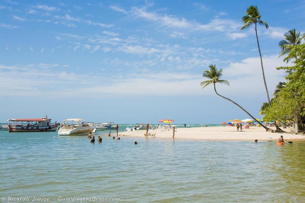 Foto da Praia da Boca da Barra, Boipeba, BA.