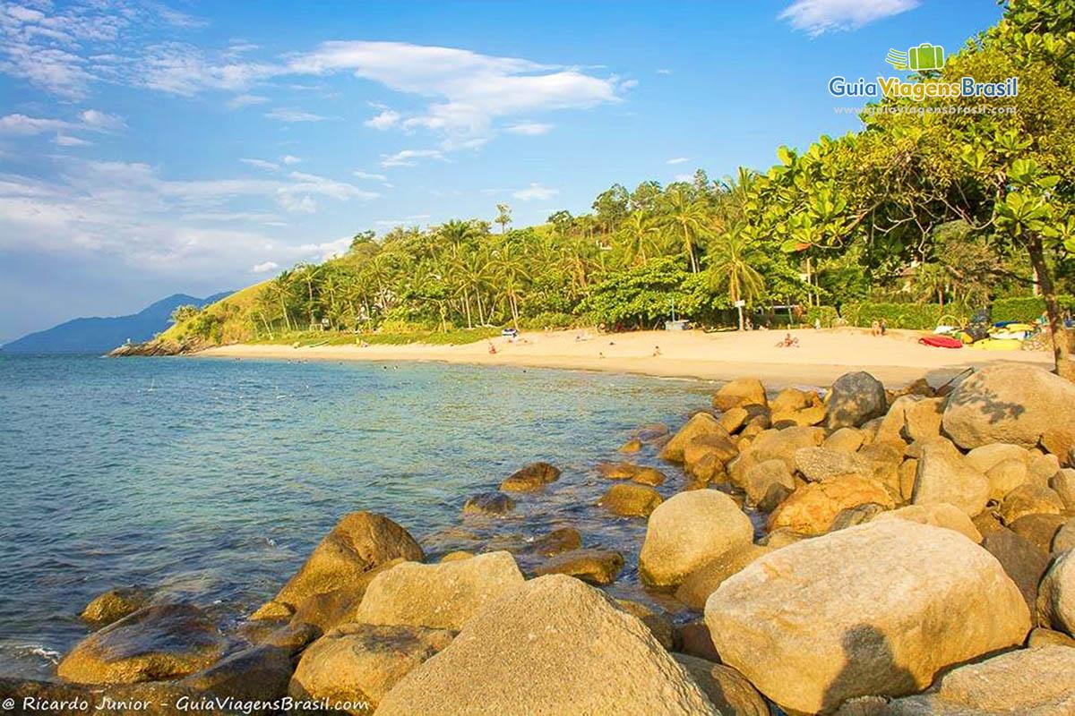 Foto Praia da Feiticeira, Ilhabela, SP.