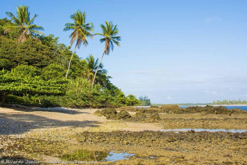Foto da Praia das Pedrinhas, Boipeba, BA.