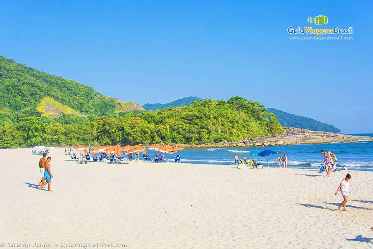 Foto Praia de Camburi, SP.