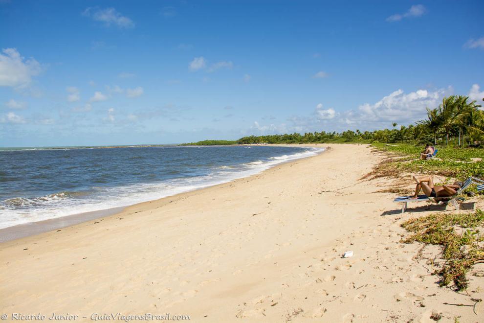 Foto Praia de Santo André, BA.