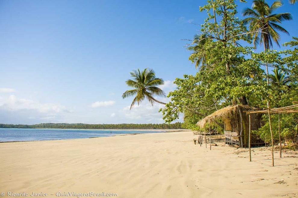 Foto Praia de Tassimirim, Ilha de Boipeba, BA.